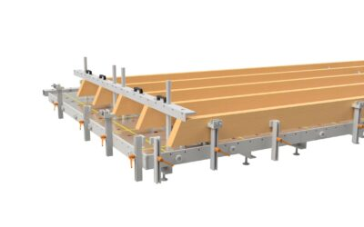 Erweiterung der Produktionsanlage für Fertigteile/Dachelemente